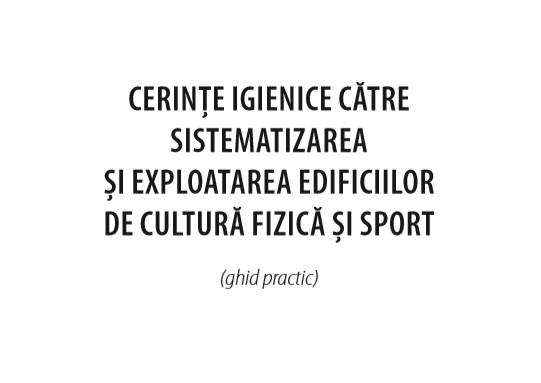 Ghid Edificii Sportive